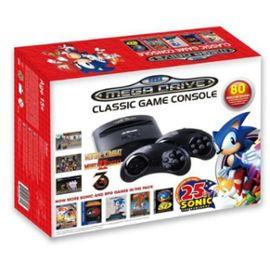 Console Retro Sega Megadrive Mini Edition Sonic 25ème anniversaire + 80 jeux ( 4.00€ offerts en SuperPoints)