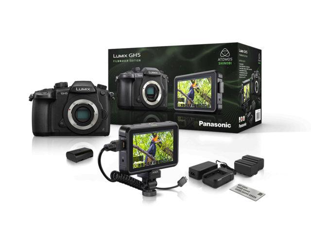 Pack Appareil photo numérique hybride Panasonic Lumix GH5 Filmmaker + Accessoires (Via ODR 200€)