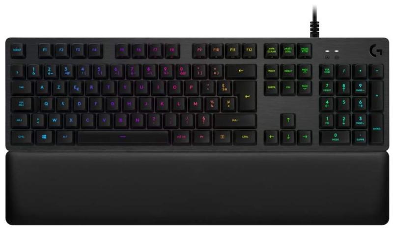 Clavier mécanique Logitech G513 - RGB avec Switchs Tactiles Romer-G (Carbone)