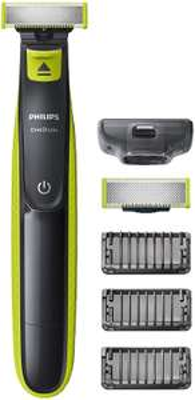 Tondeuse/Rasoir Philips OneBlade QP2520/30 avec Lame de rechange + 3 Sabots barbe