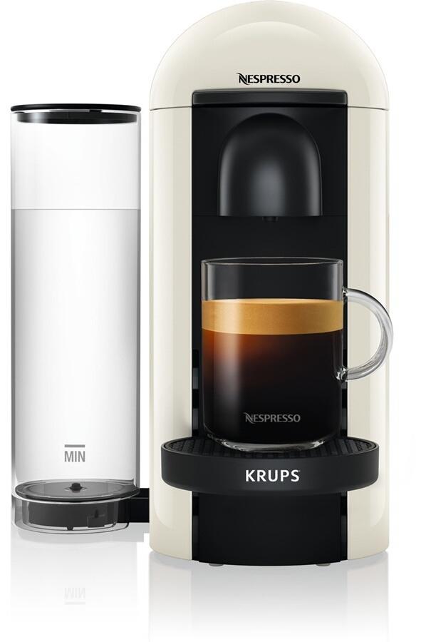 Machine à Café à Capsules Krups Nespresso Vertuo - Blanc ou Titane (Via Click & Collect)