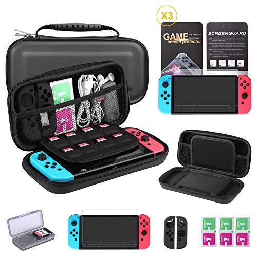 Kit de Protection 7-en-1 Bestico pour Consoles Nintendo Switch (Via Coupon - Vendeur Tiers)