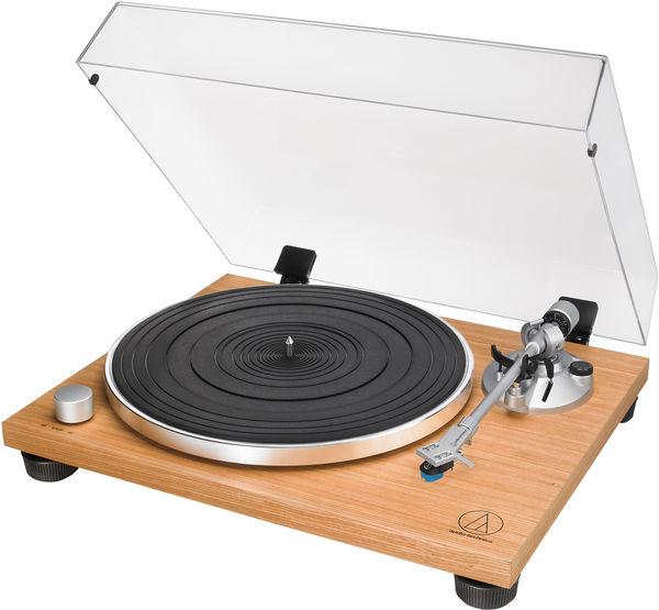Platine Vinyle Audio-Technica AT-LPW30TK Walnut Finition Teck + 40€ de Vinyles au choix