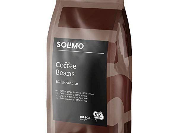 Lot de 2 paquets de café en grain Solimo - 2 kg (2 x 1 kg)
