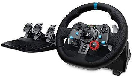 Volant + Pédales Logitech G920 pour Xbox One/PC - Noir