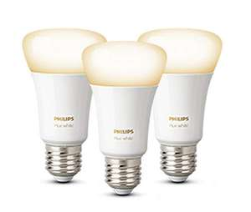 Lot de 3 ampoules hue white E27 Bluetooth