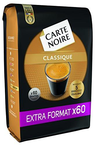 Lot de 300 Dosettes souples de café Carte Noire Classique - Lot de 5 X 60