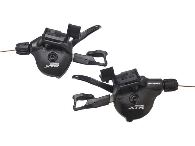 Shimano XTR SL-M9000-I Rapidfire Plus Paire de leviers de vitesses I-Spec II 2/3x 11 vitesses pour VTT (bikester.fr)