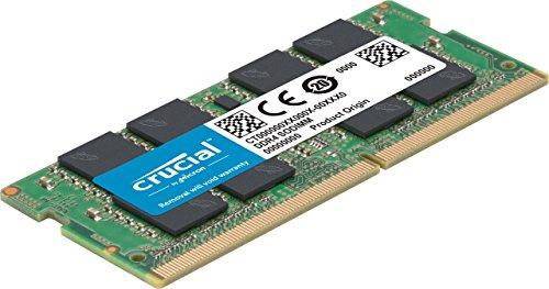 Barrette de mémoire RAM Crucial CT16G4SFD8266 -16Go, DDR4, SODIMM, 2666, CL19