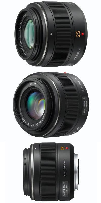 Objectif Panasonic Leica Summilux 25mm f/1.4 - Monture µ4/3 (Via ODR de 100€)