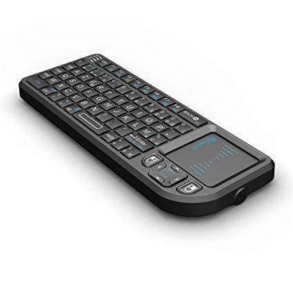 Mini Clavier Rii K01X1 sans Fil - AZERTY, 2,4 Ghz, Touchpad (Vendeur tiers)