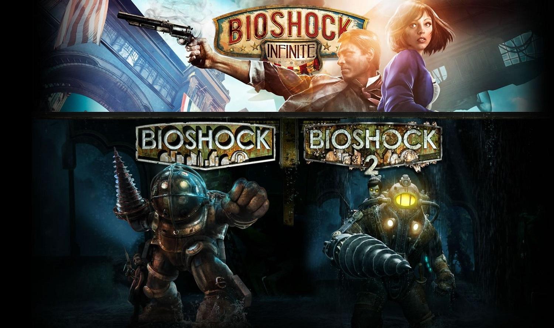 Bioshock The Collection : Bioshock 1 Remastered + Bioshock 2 Remastered + Bioshock Infinite Gold sur PC (Dématérialisé)