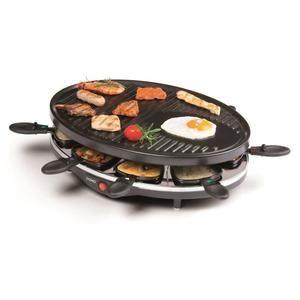 Appareil à raclette 8 personnes Domo DO9038G - Noir