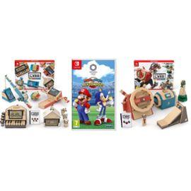 Mario et Sonic aux jeux olympiques 2020 + Labo Multikit + Kit Vehicles Sur Nintendo Switch (+9.90 en SuperPoints)