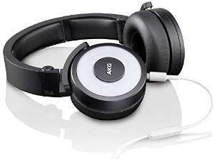 Casque audio DJ AKG Y55 blanc avec micro