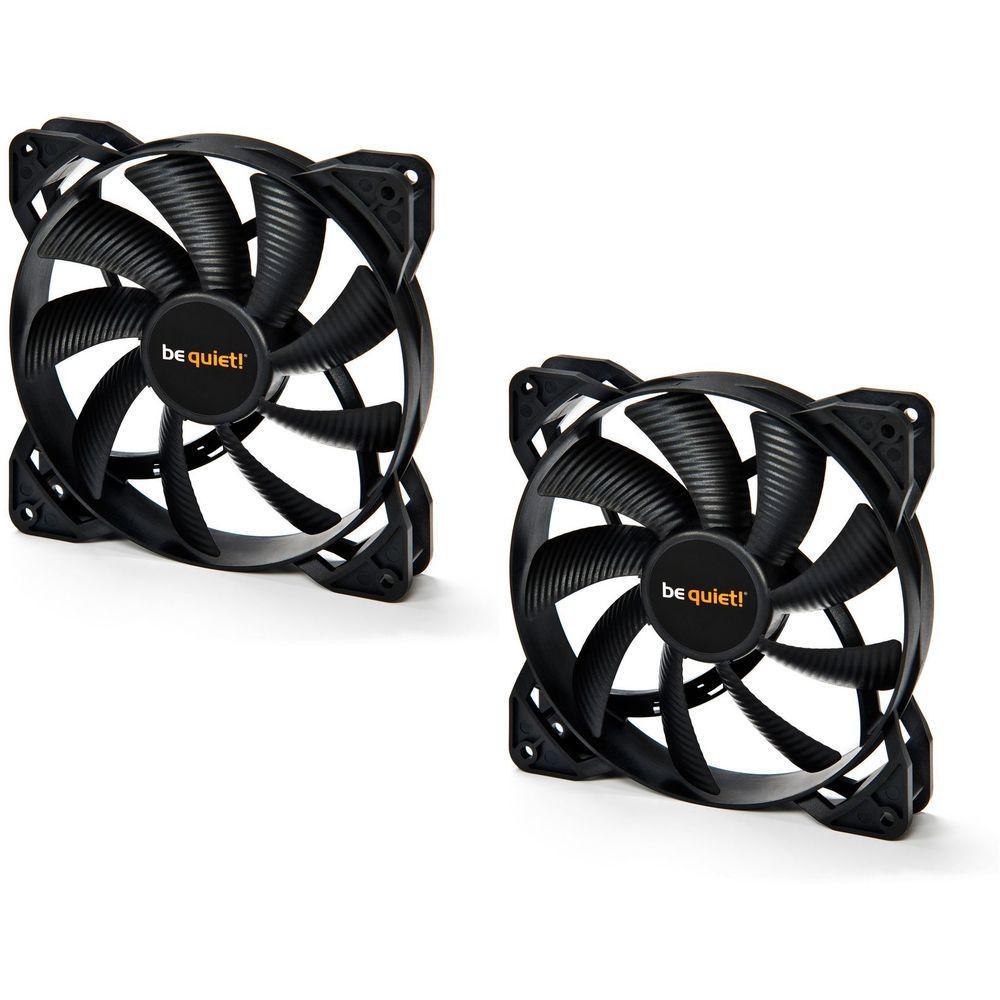 Pack de 2 ventilateurs Be Quiet Pure Wings 2 PWM (120 ou 140)