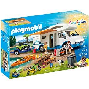 Sélection de deux jouets Playmobil - Grand animaux de la forêt ou Aventure au Camping