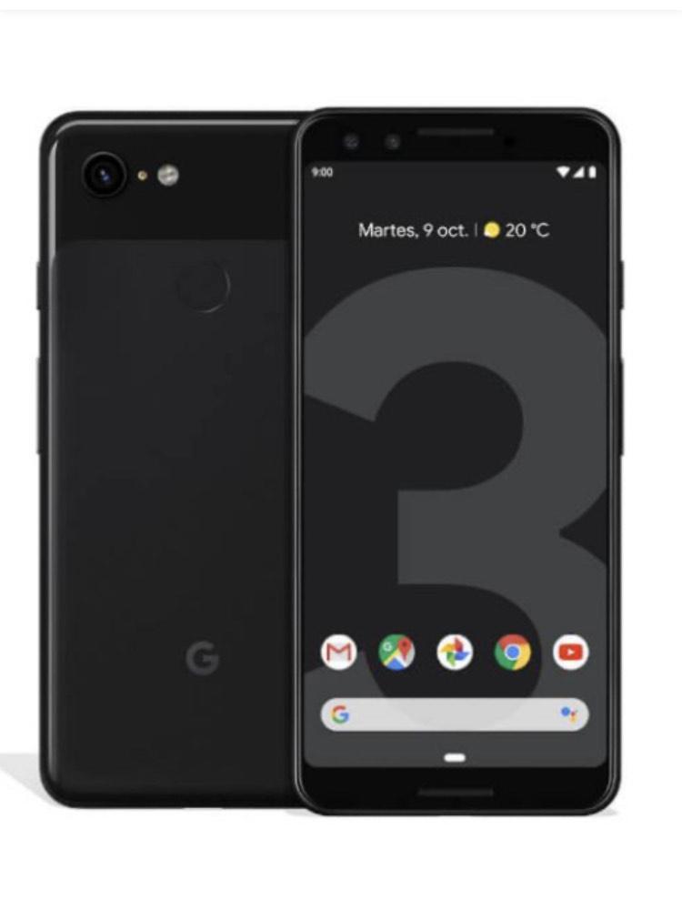 """Smartphone 5.5"""" Google Pixel 3 - 128 Go (Vendeur Tiers)"""