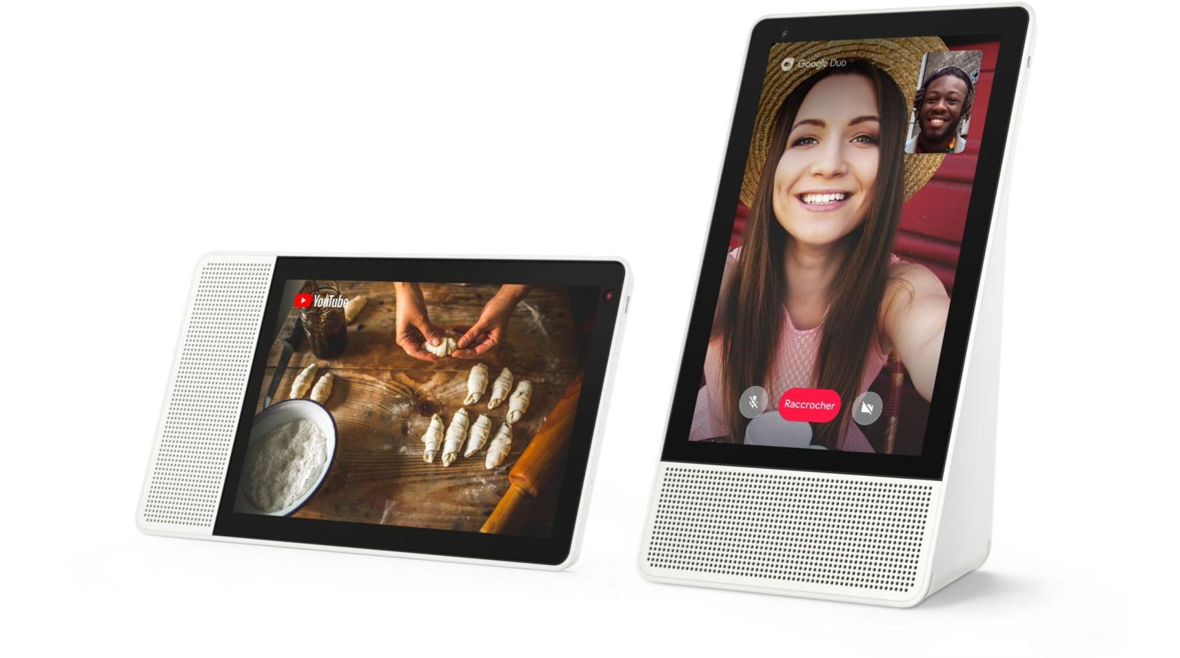 """Assistant vocal Lenovo Smart Display 8"""" (+ 15€ en SuperPoints) - Boulanger (79.99€ via Google Shopping)"""