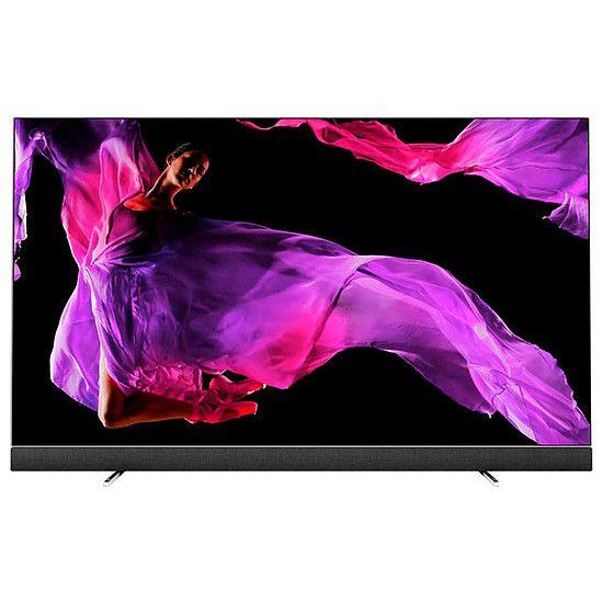 "TV OLED 55"" Philips 55OLED903 - UHD 4K, HDR, Ambilight 3 côtés, Android TV, Barre de son intégrée"