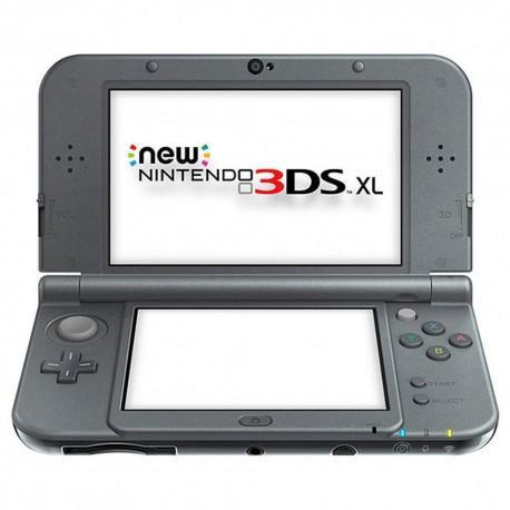 Console New Nintendo 3DS XL Noir métallique - Reconditionnée