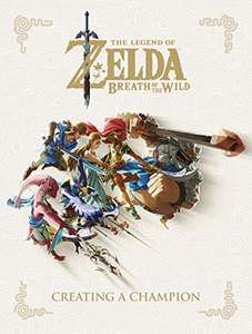 Livre The Legend of Zelda: Breath of the Wild - Creating a Champion (Anglais - Vendeur Tiers)