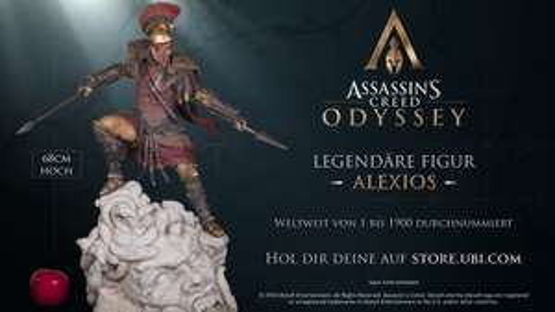 Statue Assassin's Creed Odyssey Alexios - édition numérotée (1900 pièces), 68 cm