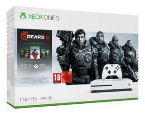 Sélection de packs Xbox One (S & X) en promotion - Ex : Xbox One S 1 To + Gears 5 + Gears of War 1,2,3 et 4