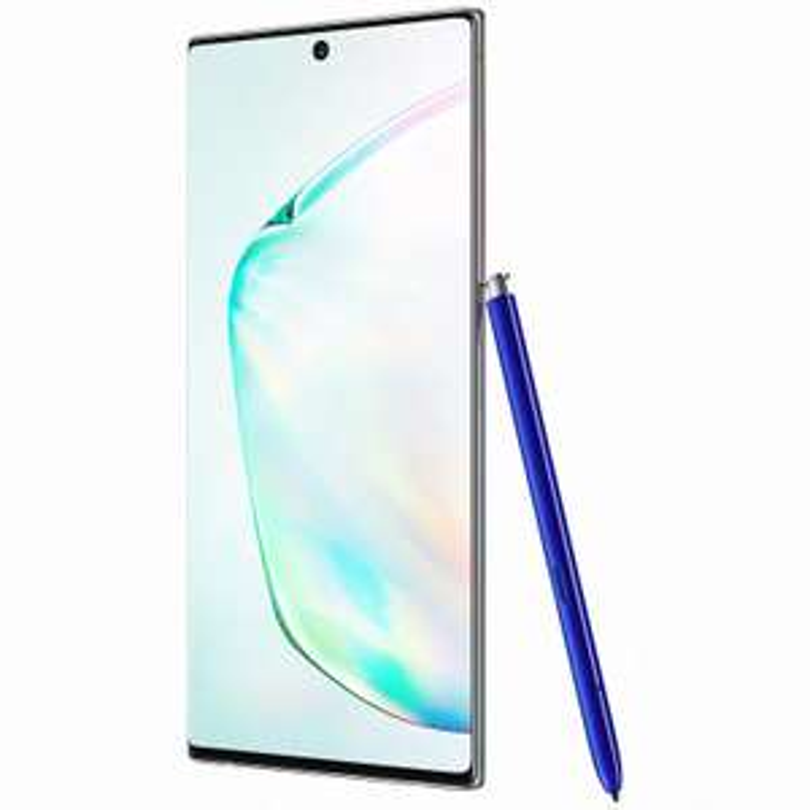 "Smartphone 6.8"" Samsung Galaxy Note 10+ Plus N9750 - Quad HD+, Snapdragon 855, RAM 12 Go, ROM 256 Go (Argent Stellaire)"