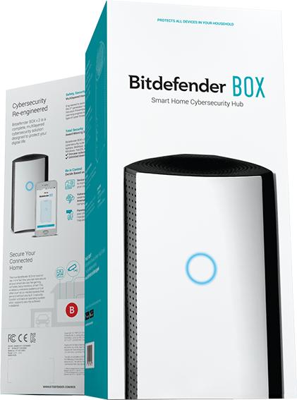 Solution de sécurité Bitdefender Box