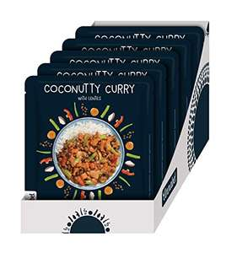 Curry à la noix de coco - 5 x 500gr