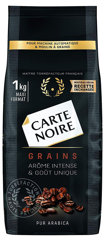Lot de 2 paquets de café Carte Noire Grains Classique - 2 x 1 kg