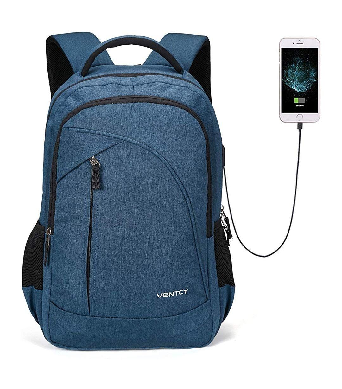 Sac à dos VENTCY pour ordinateur portable - Chargeur, Imperméable, 3 Coloris