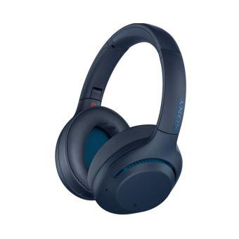 Casque Sans-fil Sony WH-XB900 Bleu avec Réduction de Bruit Active Extra Bass Bleu