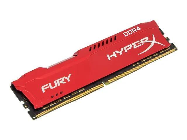 Kit Mémoire DDR4 HyperX Fury 32 Go (4 x 8 Go) - 2666 MHz, CL16 (+7.51€ en SuperPoints)