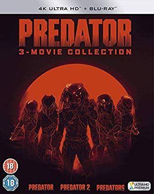 Coffret 4K : Trilogie + Blu-ray Predator (Frais de port inclus)