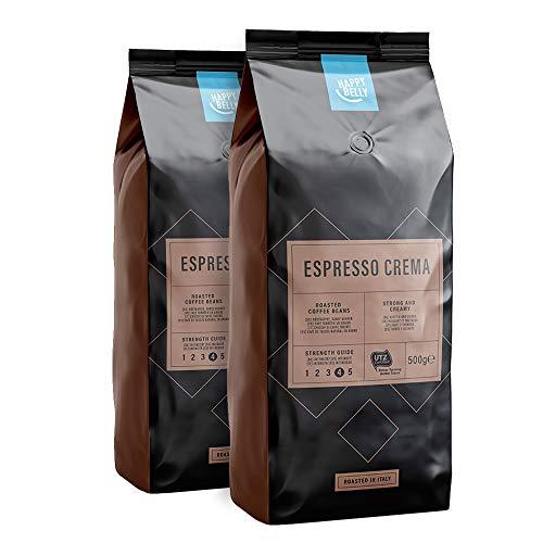 Café torréfié en grains Happy Belly Espresso Crema - 2 x 500g