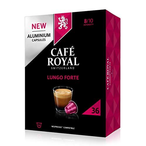 36 Capsules Café Royal Lungo Forte Compatibles Nespresso