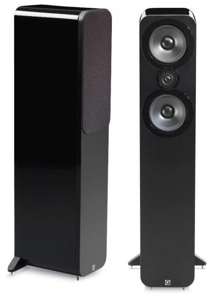 Paire d'Enceintes Colonne Q Acoustics 3050 - Laquée Noire ou Blanche