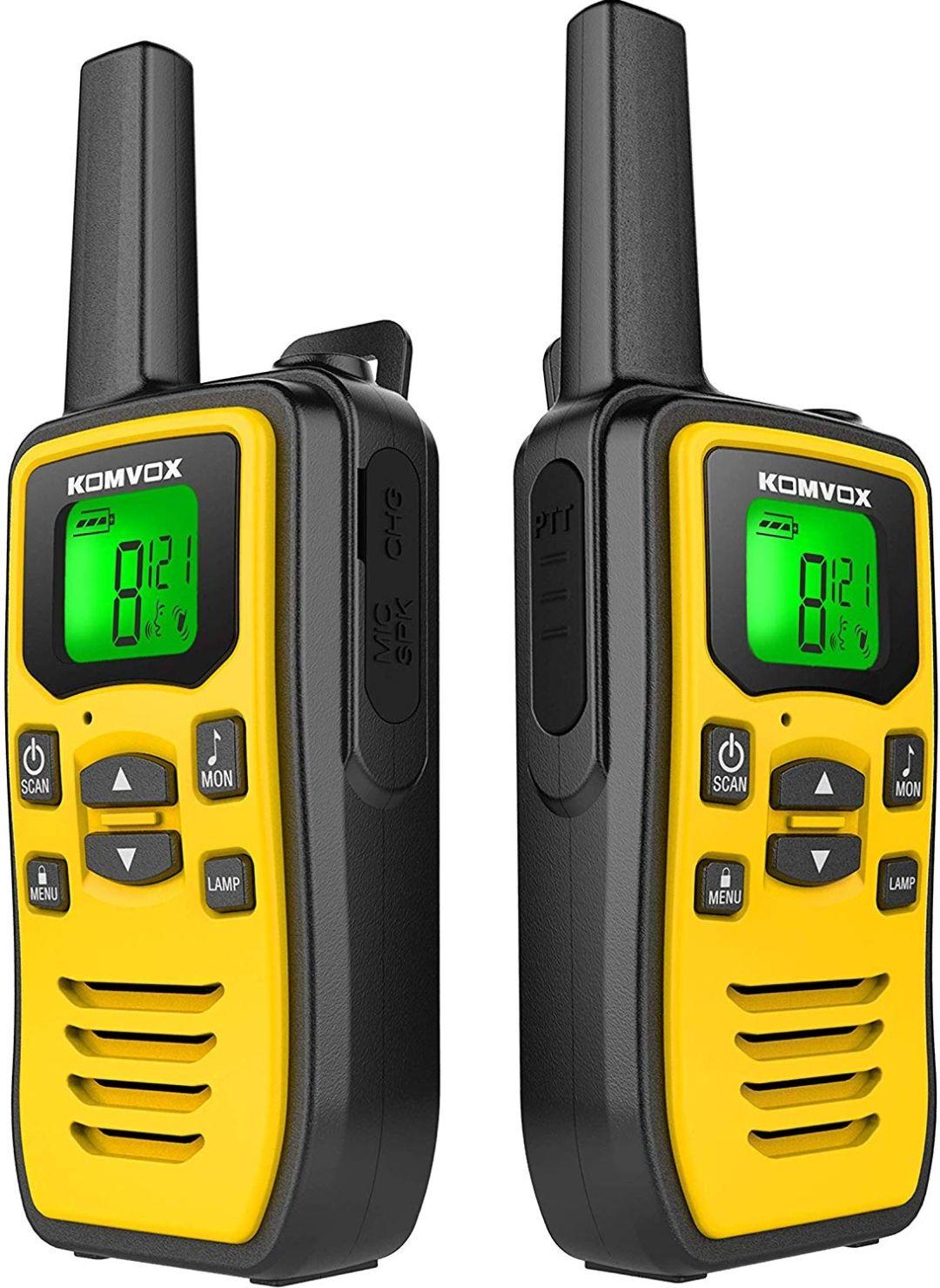 Lot de 2 Talkies-walkies rechargeables Komvox (Vendeur tiers)