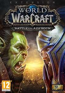 World of Warcraft: Battle for Azeroth - Standard Edition sur PC