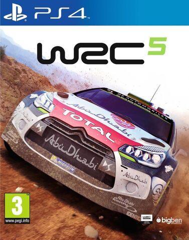 WRC 5 sur PS4 (+1,04€ en SuperPoints)