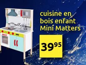 Cuisine en bois enfant Mini Matters