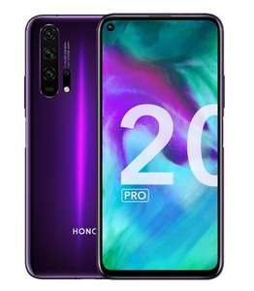 "Smartphone 6.26"" Honor 20 Pro - Double SIM, RAM 8 Go, 256 Go, Phantom Black Purple (Vendeur Tiers)"