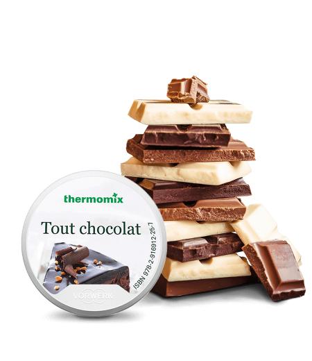 Sélection de Clés recettes pour Thermomix en promotion - Ex: Clé Tout Chocolat