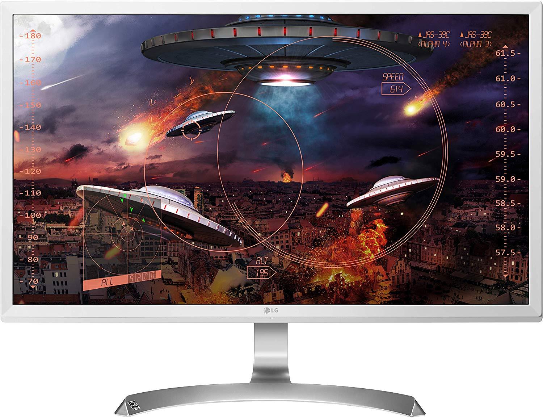 "Ecran PC 27"" LG 27UD59-W - 4K UHD, IPS, FreeSync, 5ms, Argent/Blanc"