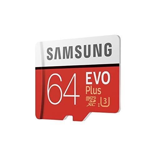 Carte mémoire microSDXC Samsung Evo Plus - 64 Go, Classe 10 (Vendeur tiers)