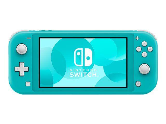 Console Nintendo switch Lite - Turquoise (+18.70€ en SuperPoints)