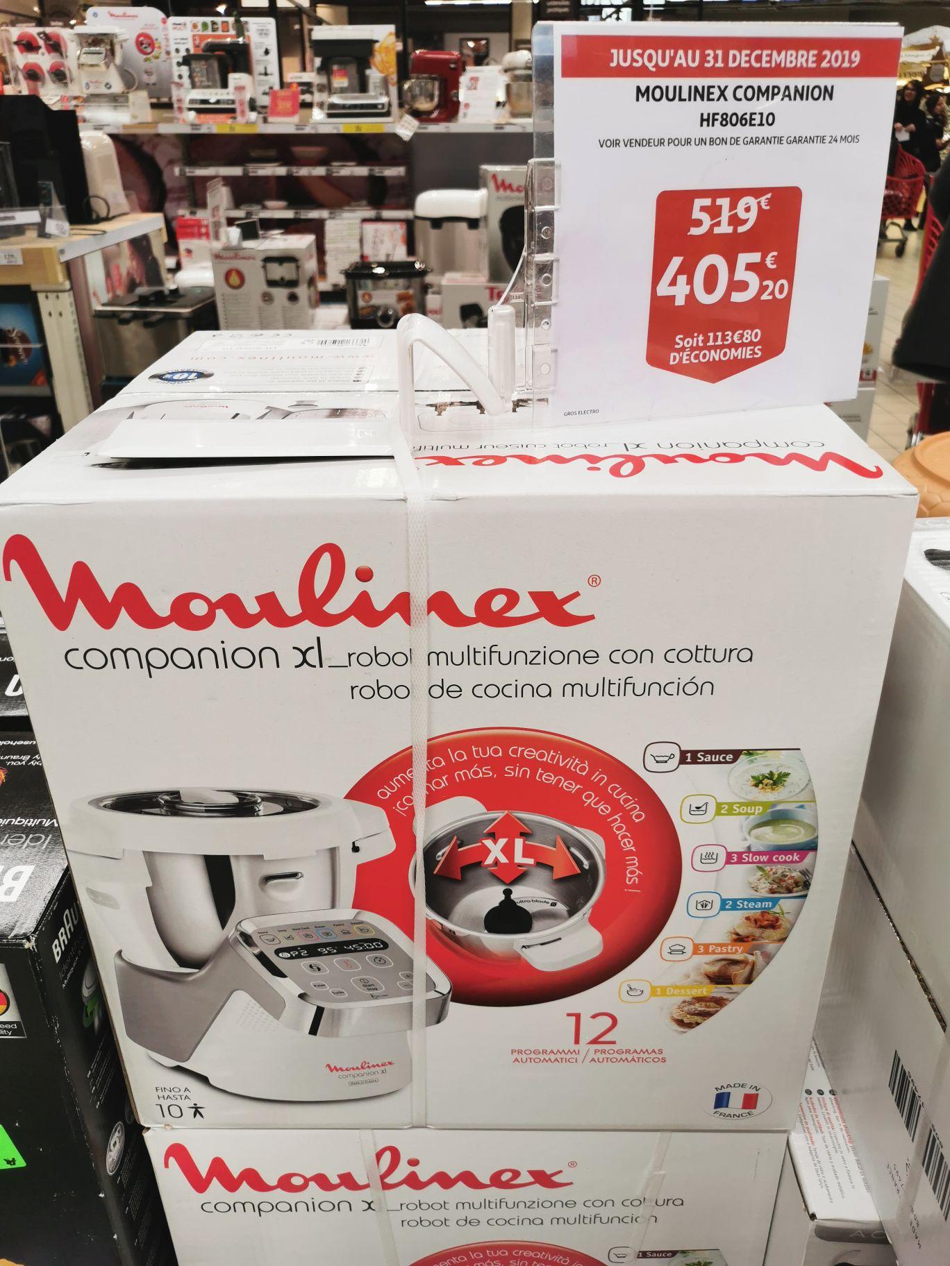 Robot cuiseur Moulinex Companion XL HF806E10 (Limonest 69)