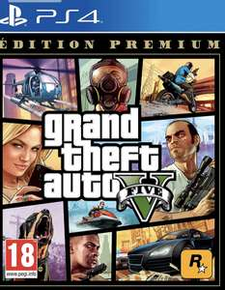 GTA V : Premium Edition sur PS4